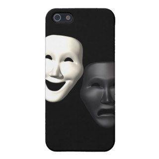 Comedy Tragedy Masks Cases For iPhone 5