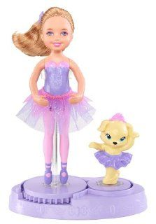 Barbie Pink Shoes Chelsea & Friends Amber Hair Doll & Puppy Toys & Games