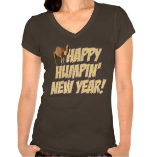 Happy Humpin New Year 2014 Hump Day Camel T shirt