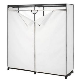 Extra Wide Clothes Closet Garment Rack With Cover 8586 167 B ...
