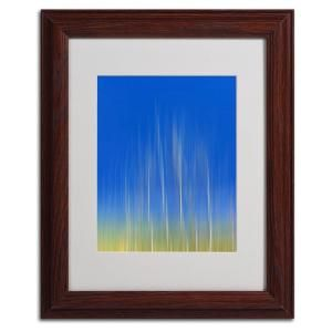 Trademark Fine Art 11 in. x 14 in. Vertical Activity Matted Framed Art PSL0187 W1114MF
