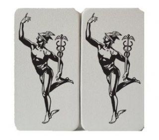 Black Line   Hermes   Greek God   Medical Symbol   Taiga Hinge Wallet Clutch: Clothing