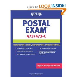 Kaplan Postal Exam 473 & 473 C: Lee Brainerd, C. Roebuck Reed: 9781419542107: Books