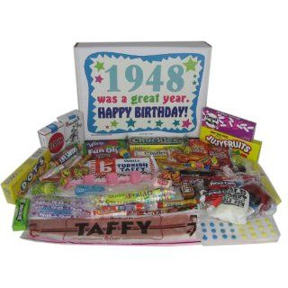 65th Birthday Gift Box 1949   Retro Candy : Gourmet Candy Gifts : Grocery & Gourmet Food