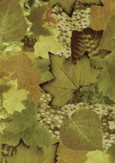Decopatch Decoupage Paper Mache   Autumn Green Fall Leaves 493: Home & Kitchen