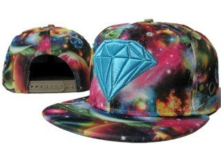 Diamonds Supply Co Galaxy Snapbacks(style 4) : Sports Fan Beanies : Sports & Outdoors