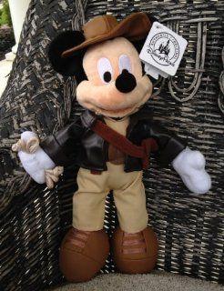 Disney Park Indiana Jones Mickey Mouse Plush Doll NEW Toys & Games