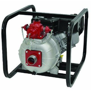 """AMT Pump 2MP5HR Engine Driven Two Stage High Pressure/Fire Pump with Honda GX160 Engine, Aluminum, 5 HP, Curve A, 2"""" NPT Female, 3 Way Discharge Industrial Pumps Industrial & Scientific"""