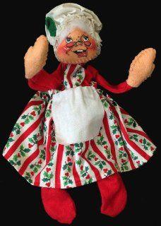 1963 Annalee Mobilitee Mrs Santa Claus Doll Toys & Games