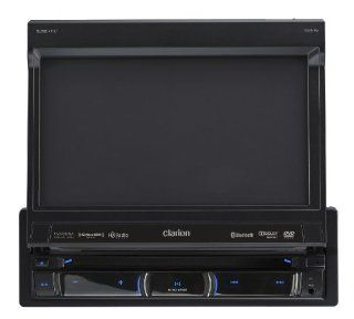 Clarion NZ503 DVD Multimedia Receiver with Built In Navigation and Single DIN Motorized 7 Inch High Resolution Touch Panel Control : Vehicle Receivers : Car Electronics