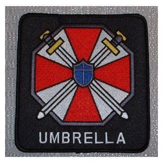 "RESIDENT EVIL UMBRELLA Corporation Logo Iron On Patches 3"": Everything Else"
