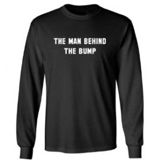So Relative The Man Behind The Bump (White Print) Adult Long Sleeve T Shirt Clothing