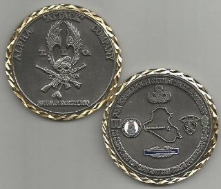 US Army Alpha Company 2 505 Parachute Infantry Regiment Airborne Challenge Coin