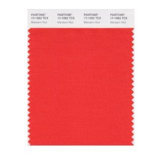 PANTONE SMART 17 1562X Color Swatch Card, Mandarin Red   Wall Decor Stickers