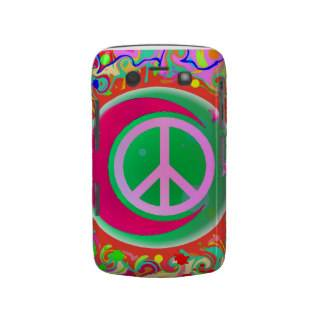Peace Sign, Moon, Stars & Everything Blackberry Bold Covers