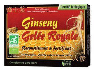 SANTE VERTE Ginseng Gel�e royale (10 ampoules): Health & Personal Care