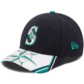 NEW ERA Youth Seattle Mariners Visor Dub 9FORTY Adjustable Cap   Size: Youth,