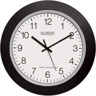 La Crosse Technology WT 3102 Plastic 10 Analog Atomic Clock   Choose Finish,