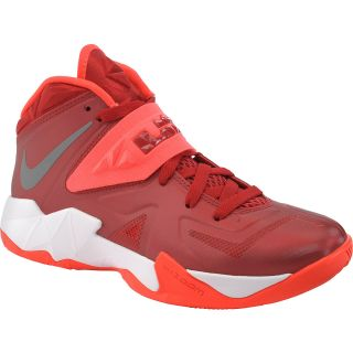 NIKE Womens Zoom Soldier VII High Top Basketball Shoes   Size: 8.5, Red/metal