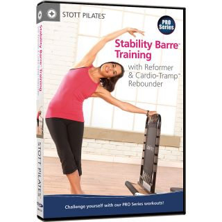 STOTT PILATES Stability Barre Training with Reformer & Cardio Tramp Rebounder