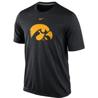 NIKE Mens Iowa Hawkeyes Dri FIT Logo Legend Short Sleeve T Shirt   Size:
