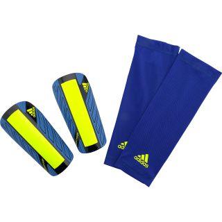 adidas Nitrocharge Pro Shin Guards   Size Medium, Blue