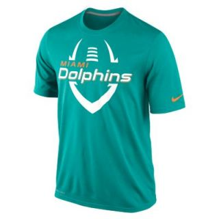 Nike Legend Icon (NFL Miami Dolphins) Mens T Shirt   Turbo Green