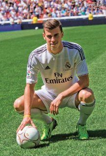 Gareth Bale Real Madrid Team Football Sport Poster 7261 : Prints : Everything Else