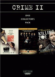 Crime II Collector's Pack (Reservoir Dogs/Suicide Kings/Killing Zoe): Harvey Keitel, Tim Roth, Michael Madsen, Christopher Walken, Denis Leary, Sean Patrick Flanery, Eric Stoltz, Julie Delpy, Chris Penn, Steve Buscemi, Lawrence Tierney, Edward Bunker,