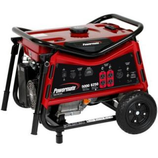 Powermate 5,000 Watt Gasoline Powered Portable Generator PM0105007