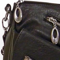 Donna Bella Designs 'Alida' Faux Leather Cross body Bag Donna Bella Designs Crossbody & Mini Bags