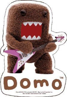 Domo Kun   Rock Star   Sticker / Decal: Automotive