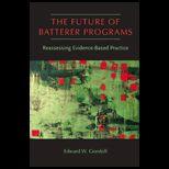 Future of Batterer Programs