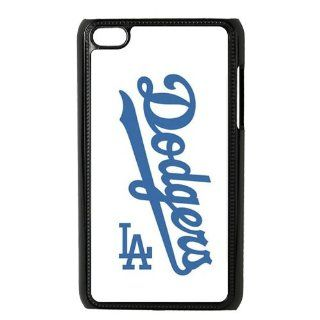 Fashion Popular MLB Los Angeles Dodgers Girls Team Logo Durable HARD Ipod Touch 4 Case   Players & Accessories
