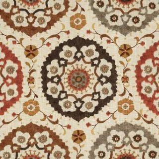 Samara Spice Fabric by the Yard   Ballard Designs Clothing