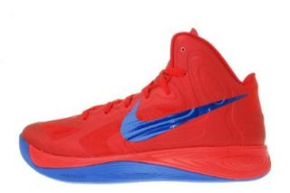 Nike Hyperfuse XDR Red Game Royal Blue Mens Basketball Shoes 525018 601 [US size 9.5] Shoes