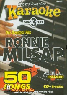 Chartbuster Karaoke CDG 3 Disc Pack CB5106   The Greatest Hits of Ronnie Milsap
