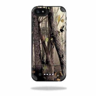 MightySkins Protective Vinyl Skin Decal Cover for Mophie Juice Pack Air iPhone 5 Apple iPhone 5 Battery Case Sticker Skins Tree Camo: Cell Phones & Accessories