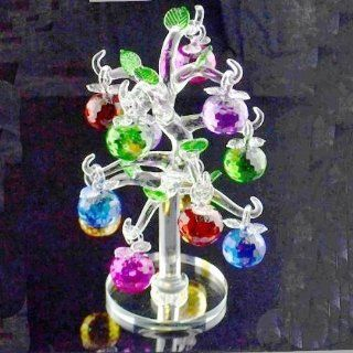 Lightahead� CRYSTAL GLASS COLORED 12 INCHES APPLE TREE BEAUTIFUL CHRISTMAS VALENTINE MOTHERS DAY GIFT OF LOVE  Other Products