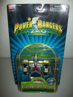 "Power Rangers Zeo Bandai 1996 5"" Super Zeo Megazord Zord action figure MOSC MOC: Toys & Games"