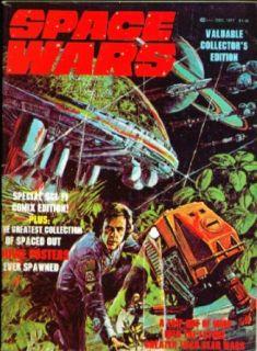 SPACE WARS Star Trek Logan's Run Sci Fi Comics Edition ++ 12 1977 Entertainment Collectibles