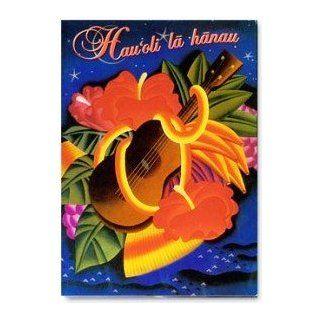 Hawaiian Birthday Card Ukulele Hauoli La Hanau: Electronics