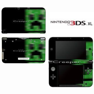 Minecraft Creeper Mob Decorative Video Game Decal Cover Skin Protector for Nintendo 3DS XL: Video Games