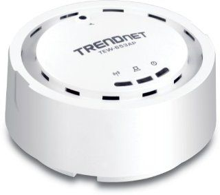TRENDnet Wireless N 300 Mbps 18 dBm High Gain Ceiling Mount PoE Access Point, WDS and Repeater, TEW 653AP Electronics