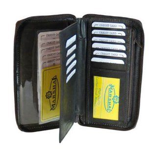 Safe Checkbook Credit Card Holder (Black) : Business Card Holders : Office Products