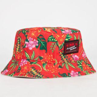 Permanent Vacation Mens Reversible Bucket Hat Khaki One Size For Men 2328494