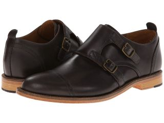 J. Shoes Troop Mens Monkstrap Shoes (Black)