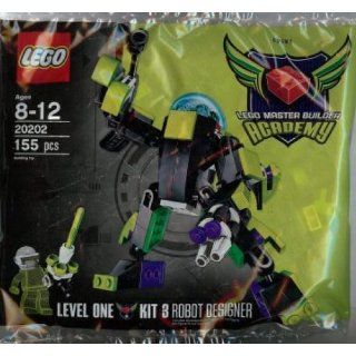 LEGO Master Builder Academy Set #20202 MBA Robot Designer Kit 3 Bagged Includes Kit 3 Designer Handbook!: Toys & Games