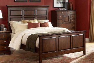 Queen Bed of Wilshire Collection by Homelegance Home & Kitchen