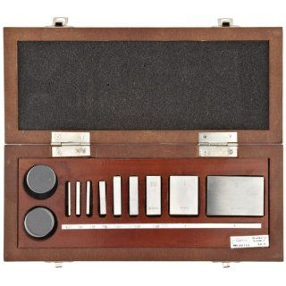 Fowler 53 670 002 Micrometer Calibration Sets with Fitted Wooden Case and Optical Flats Outside Micrometers Industrial & Scientific